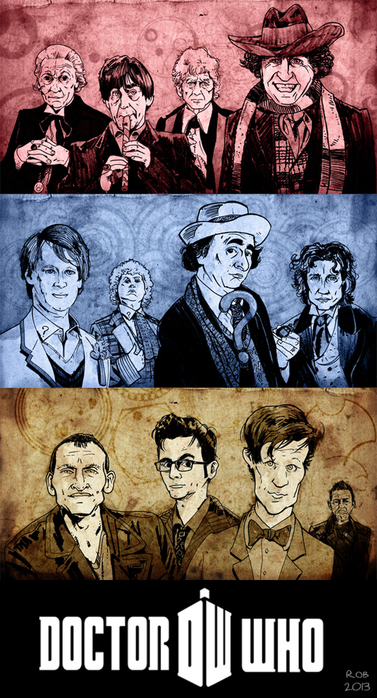 Doctor Who 1-12