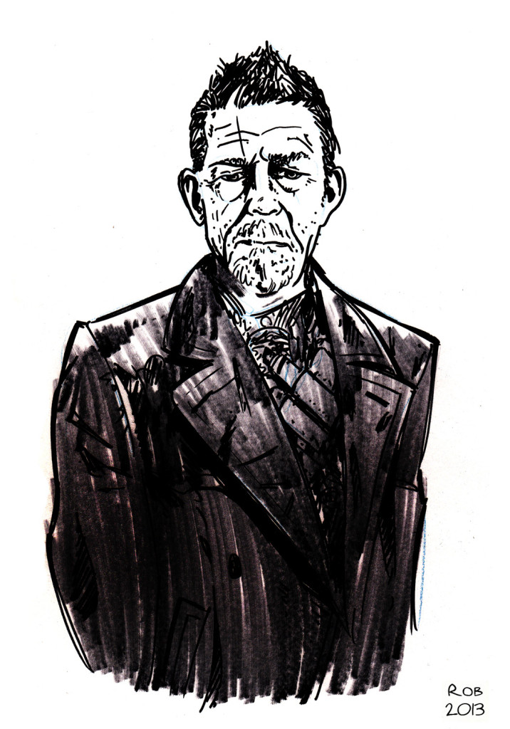 John Hurt aka The War Doctor. Not the greatest, but I'm okay with that.