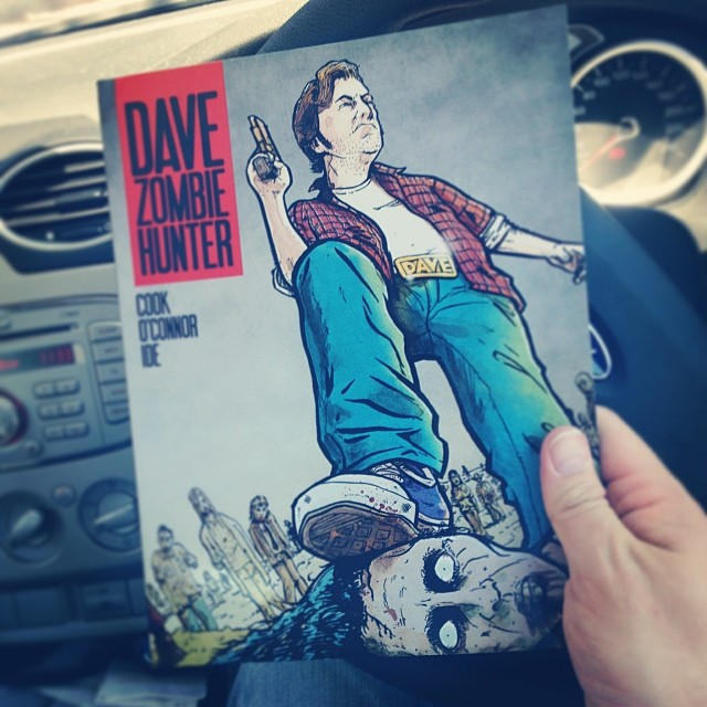dave in hand
