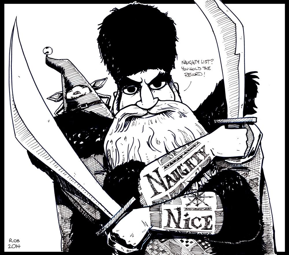 Nicholas St. North (aka Santa)